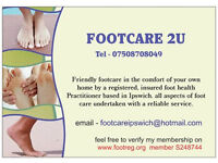 Footcare 2u- Mobile footcare in the comfort of your own home.