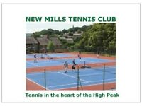 Summer junior tennis training camp in the High Peak