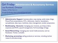 Girl Friday - Administrative & Accountancy Services