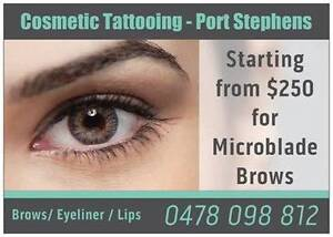 Cosmetic Tattooing from $250 - Microblade Brows Fingal Bay Port Stephens Area Preview