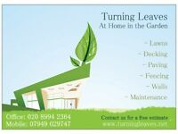 Garden Services: Patios Paving Lawns Walls Decking Fencing Builders Chiswick London