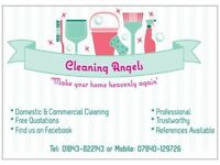 Cleaning Angels for all your Domestic & Commercial cleaning- Full Public Liability cover