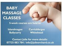 Baby massage classes