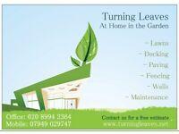 Landscape Gardener Chiswick Hammersmith Ealing Kew Kensington London P