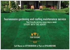 four seansons gardening and roofing service