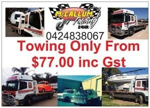 McCallum Towing ( cheap rates from $77 )tow truck tilt tray 24/7 Wangara Wanneroo Area Preview