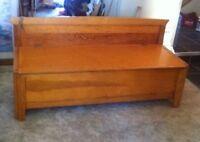 Hutterite Deacons Bench