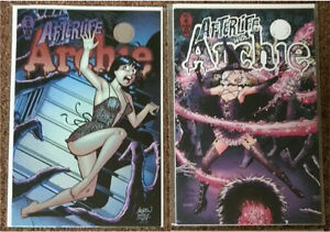 AFTERLIFE WITH ARCHIE COMICS #5 & 6 VARIANTS