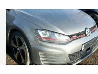 Single unit: Front end assembly right hand drive UK Golf Mk7 5G GTi 2016 RHD 2012 - 2017