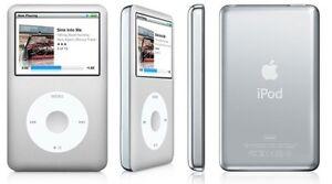 New-Silver-Apple-iPod-6th-Gen-Video-Classic-80-GB-80GB-Eco-Friendly
