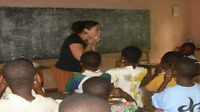 Education and entertainment activities for children in Togo