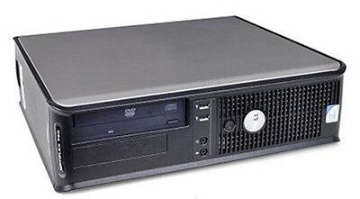 LOT 2 Dell Optiplex 760 Computer Core 2 Duo 3.0GHz 4GB RAM 160GB HD 3470 Win 7