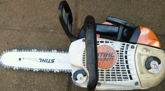Stihl ms 201t top hamdle chainsaw