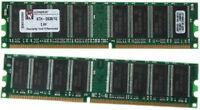 4x 1GB + 4x 512MB + 2x 256MB DDR PC3200 Desktop RAM.