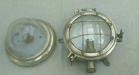 Sailing Boat Brass Lamps