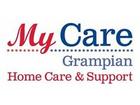 Recruiting Home Care and Support Workers for Aberdeen City. F/T & P/T Posts Available