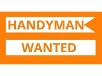 Handyman Wanted - £10 an hour - flexible hours - Read The Ad !!