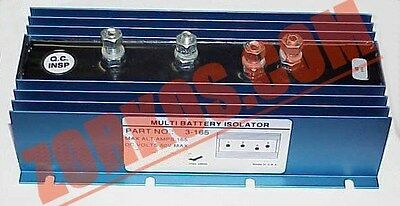 Multi 3 Battery Isolator 165 amp Car Stereo Audio - Multi Battery Isolator