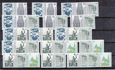Berlin Zusammendrucke W 83-98 postfrisch