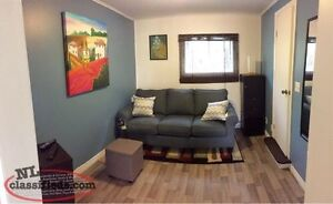 Clean, quiet Bachelor apartment for rent close to CNA,Grenfell