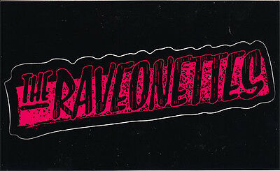 The Raveonettes Pretty In Black RARE promo sticker '05