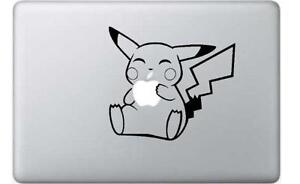 Pikachu Pokemon Apple Macbook Laptop Decal Sticker Skin Vinyl Mac MBA