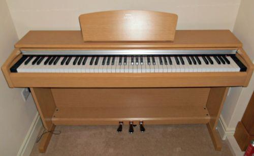 yamaha electric piano ebay. Black Bedroom Furniture Sets. Home Design Ideas