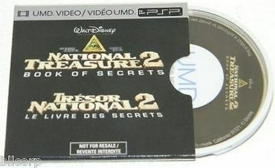 NATIONAL TREASURE 2 BOOK OF SECRETS FOR SONY PSP, UMD