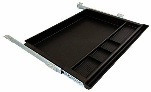 Pencil Drawer by NYCCO 23 Inch Wide Underdesk Drawer - Black