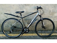 Mens CARRERA Crossfire 2 Hybrid Bike In Excellent Condition
