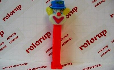PEZ Glow In The Dark Peter Pez on neon red stem (Red Glow In The Dark)