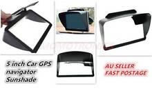 5 inch Car GPS navigator Sunshade Lens Hood Cover Visor Protector Malaga Swan Area Preview