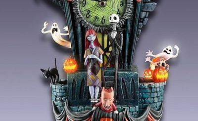 Burton NBX NIGHTMARE BEFORE CHRISTMAS Cuckoo Clock NEW