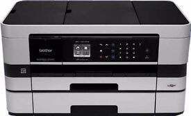 Brother MFC-J4610DW A4 Inkjet All-In-One Wireless Printer, Scanner, Copier and Fax with A3 Capabilit