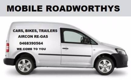 Mobile Roadworthys We come to you