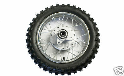 Dirt Pit Bike Rear Wheel Tire Rim 49cc 50cc For Baja DR49 DR50 Dirt Runner 49 50