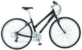 Ladies GIANT CRS Hybrid Bicycle (Burgundy)