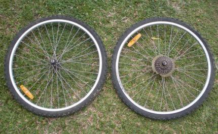 Bicycle Wheels $18 pair Albion Brisbane North East Preview