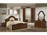 Star Italian Bedroom Set High Gloss