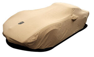 1968 - 1982 Corvette C3  Premium Flannel TAN Car Cover