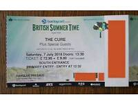 The Cure + Guests Hyde Park 7th July