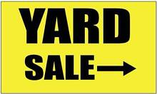 Fairfield Yard Sale....Free Coffee^....6.30am Start...Sat 5th Dec Fairfield Darebin Area Preview
