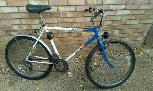 Raleigh MTB old school made in England quality just £25