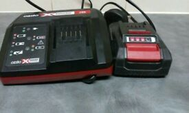 charger and 18v 1.5Ah battery