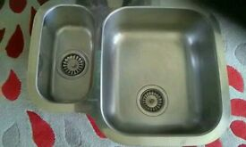 Sink - stainless steel