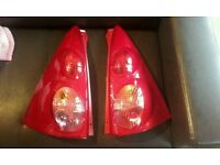 Peugeot 107 rear n/s and o/s light