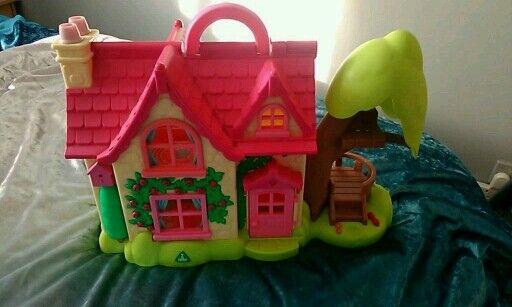 ELC Plastic dolls house