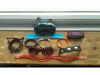 11 piece assortment of random accessories