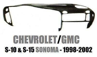 Chevrolet S-10 GMC S-15 Sonoma Pickup Dash Cap Cover 1998 1999 2000 2001 2002 01 Gmc S15 Sonoma Pickup