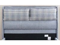 🔴🔵SERENITY BED WITH OTTOMAN STORAGE 🕷️DOUBLE AND KING SIZE WITH MATTRESS IN STOCK🌈